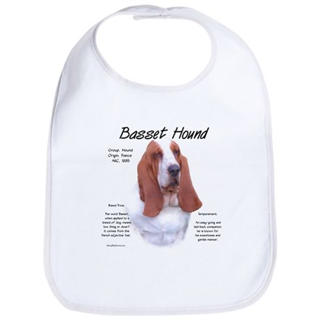 Basset Hound Bib