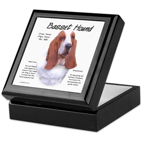 Basset Hound Keepsake Box