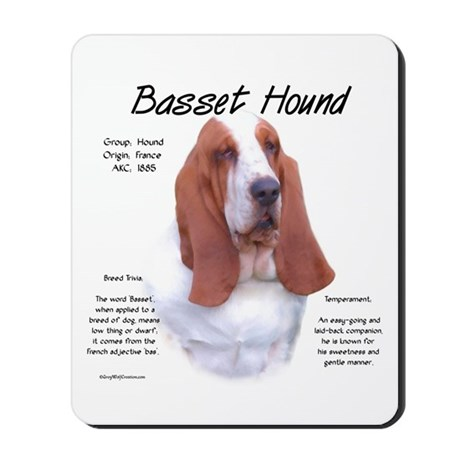 Basset Hound Mousepad 