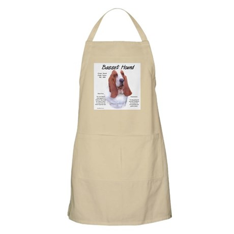 Basset Hound BBQ Apron