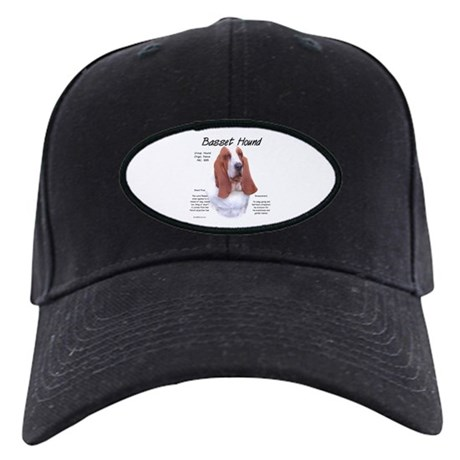 Basset Hound Black Cap