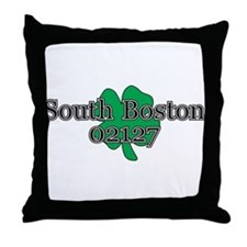 South Boston, 02127 Throw Pillow