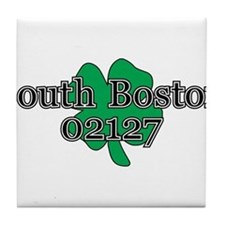South Boston, 02127 Tile Coaster