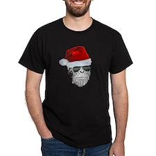 Sasquatch/Bigfoot Santa BELIEVE T-Shirt