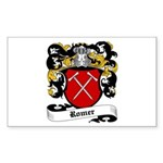 Romer Coat of Arms Rectangle Sticker