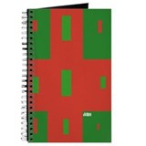 HI54GEO Geo Christmas Wrap Journal