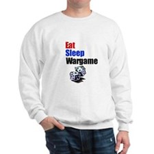 Eat, Sleep, Wargame Sweatshirt