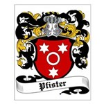 Pfister Coat of Arms Small Poster