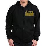 Mens hoodies Zip Hoodie (dark)