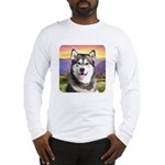 Malamute Meadow Long Sleeve T-Shirt
