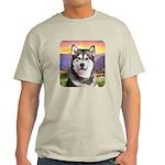 Malamute Meadow Light T-Shirt