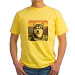 Malamute Meadow Yellow T-Shirt