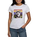Malamute Meadow Women's T-Shirt