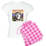 Malamute Meadow Women's Light Pajamas