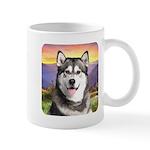 Malamute Meadow Mug