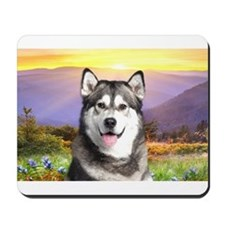 Malamute Meadow Mousepad