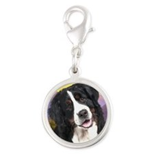Berner Meadow Silver Round Charm