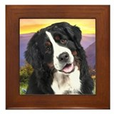 Berner Meadow Framed Tile