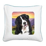 Berner Meadow Square Canvas Pillow