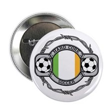 Ireland Soccer Button