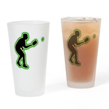 Pickleball Drinking Glass