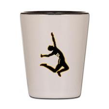 Long Jump Shot Glass