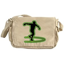 Discus Throwing Messenger Bag