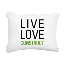 liveconstruct.png Rectangular Canvas Pillow