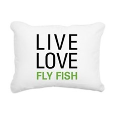 liveflyfish.png Rectangular Canvas Pillow