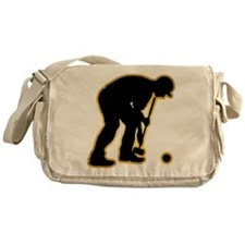 Croquet Messenger Bag