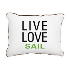 livesail.png Rectangular Canvas Pillow
