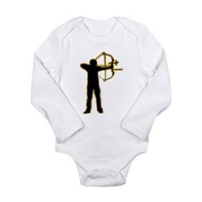 Archery Long Sleeve Infant Bodysuit