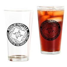 Socialist Party Logo Drinking Glass