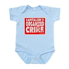 Capitalism Is Organized Crime Onesie