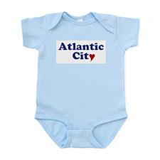 Atlantic City with Heart Infant Bodysuit