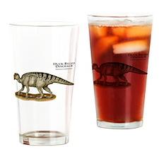 Duck-Billed Dinosaur Drinking Glass