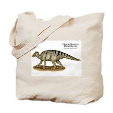 Duck-Billed Dinosaur Tote Bag
