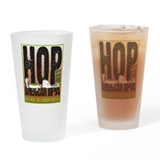 Hop Till You Drop IPA Drinking Glass