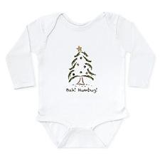 Bah! Humbug! Tree Long Sleeve Infant Bodysuit