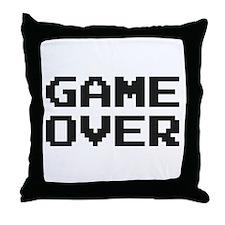 GAME OVER Throw Pillow