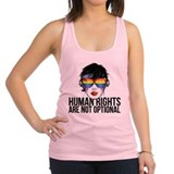 Human Rights Racerback Tank Top