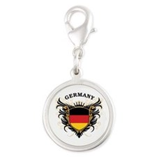 Germany Silver Round Charm