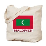Flag of Maldives Tote Bag