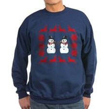 Ugly Holiday Sweater Funny Christmas Sweatshirt