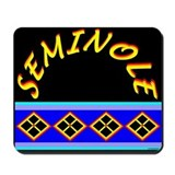 SEMINOLE INDIAN PATCHWORK Mousepad