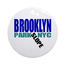 Park Slope BROOKLYN Ornament (Round)