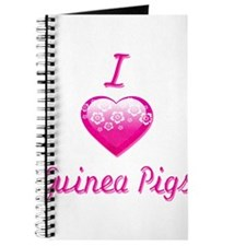 I Love/Heart Guinea Pigs Journal