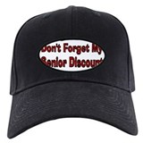 Funny Senior discount Baseball Hat