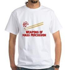 Weapons of Mass Percussion Drum Band Shirt