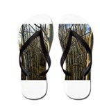White Bark Flip Flops